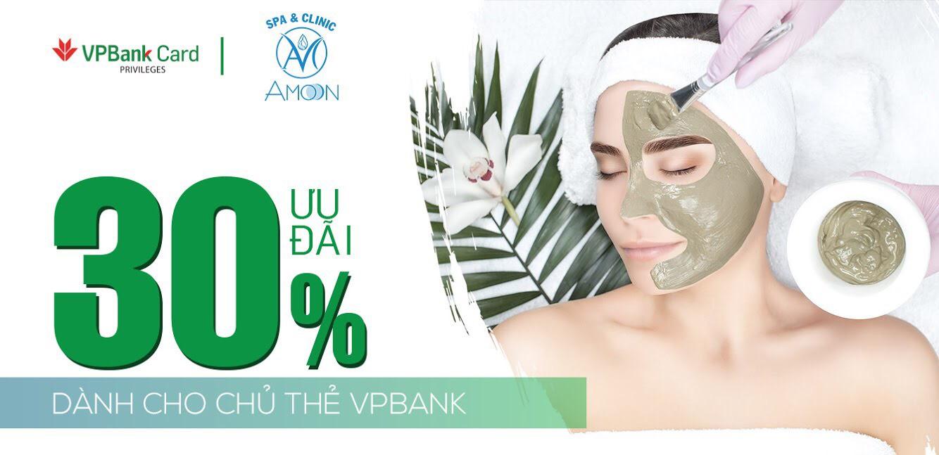 Amoon hợp tác ưu đãi cho chủ thẻ VPBank